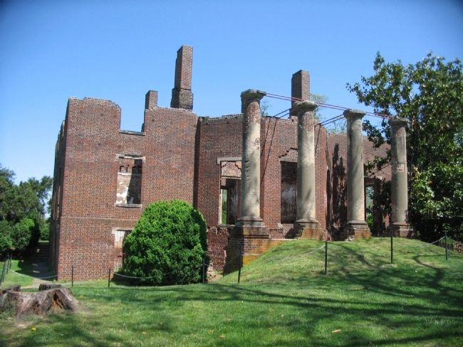 Barboursville Ruins image. Click for full size.