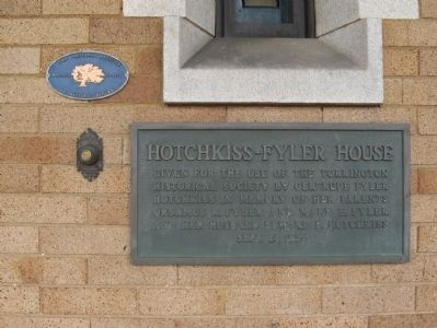 Hotchkiss-Fyler House Marker image. Click for full size.