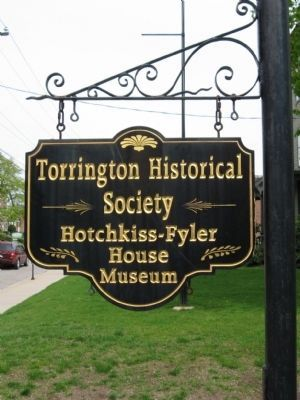 Torrington Historical Society Marker image. Click for full size.