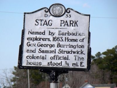 Stag Park Marker image. Click for full size.