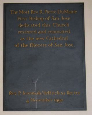 A Second Plaque Mounted on the Wall in the Vestibule at the Entrance image. Click for full size.