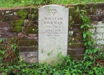 Gravesite of William Rickman image. Click for full size.