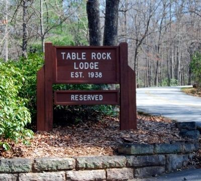 Table Rock Lodge Sign image. Click for full size.