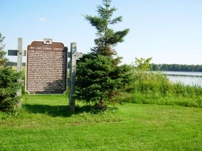 Rib Lake Lumber Company Marker image, Touch for more information
