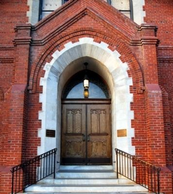 St Mary's Catholic Church South Entrance image. Click for full size.
