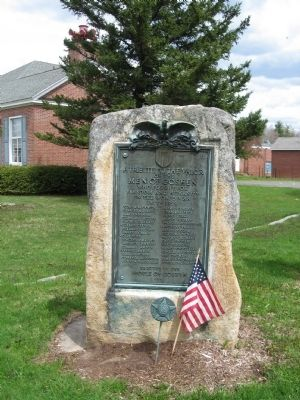 Goshen World War I Monument image. Click for full size.