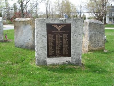 Goshen French and Indian War & Revolutionary War Memorial image. Click for full size.