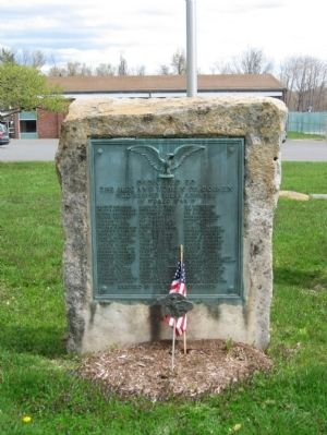 Goshen World War II Monument image. Click for full size.
