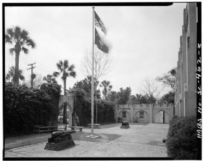 Beaufort Arsenal Courtyard image. Click for full size.
