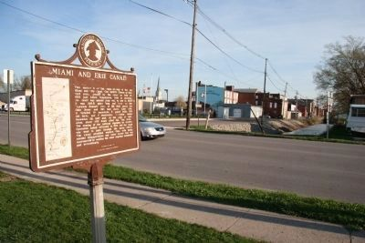 Miami and Erie Canal / Delphos Marker image. Click for full size.