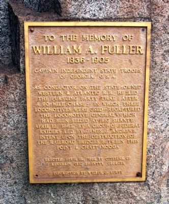 William A. Fuller Marker image. Click for full size.