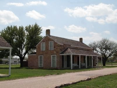 Grierson's quarters, Fort Concho image. Click for full size.