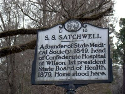 S. S. Satchwell Marker image. Click for full size.