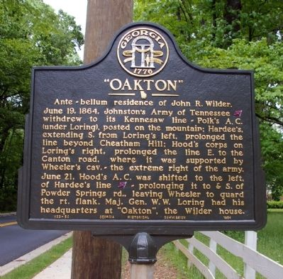 """Oakton"" Marker image. Click for full size."