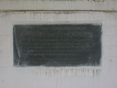 Marker on the Spring House image. Click for full size.