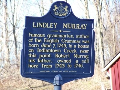 Lindley Murray Marker image. Click for full size.