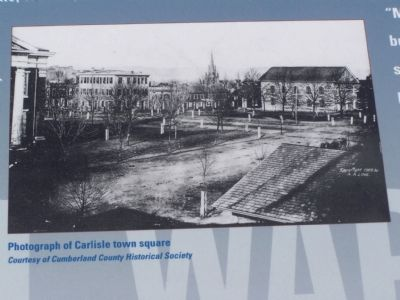 Historic Photo in Marker image. Click for full size.