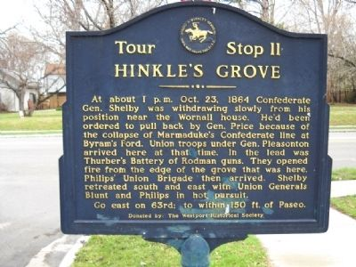 Hinkle's Grove Marker image. Click for full size.