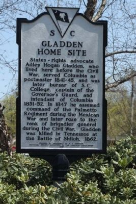 Gladden Home Site Marker image. Click for full size.