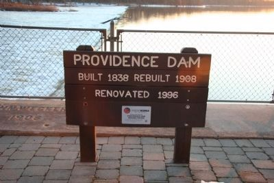Providence Dam image. Click for full size.