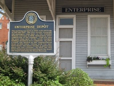 Enterprise Depot Marker image. Click for full size.