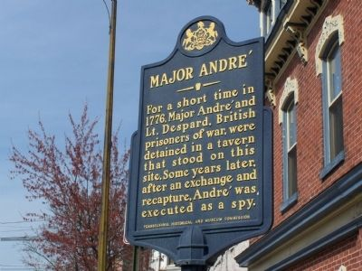 Major André Marker image. Click for full size.