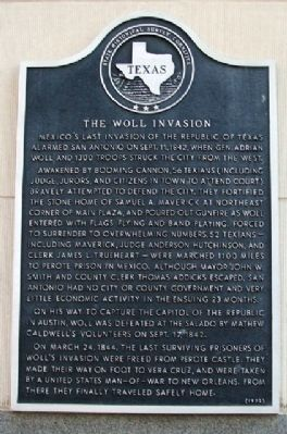 The Woll Invasion Marker image. Click for full size.