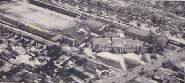 Aerial View of Parker High School image. Click for full size.