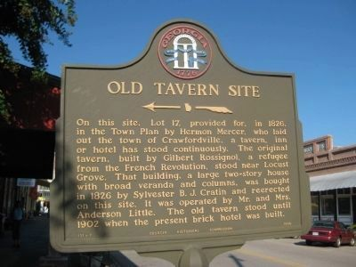 Old Tavern Site Marker image. Click for full size.