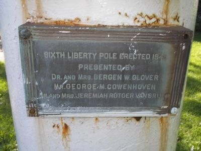 Sixth Liberty Pole Marker image. Click for full size.