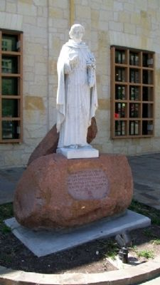 San Antonio de Padua Marker and Statue image. Click for full size.