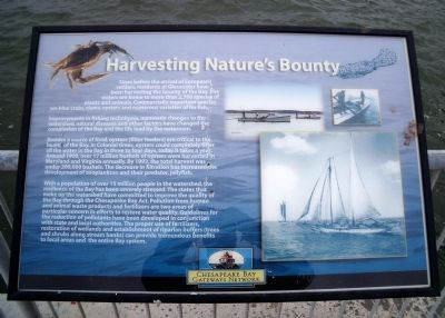 Harvesting Nature's Bounty Marker image. Click for full size.