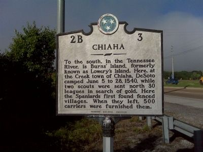Chiaha Marker image. Click for full size.