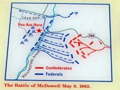 Detail From the Marker - Battle Diagram image. Click for full size.