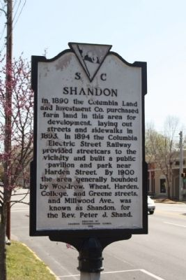 Shandon Marker image. Click for full size.
