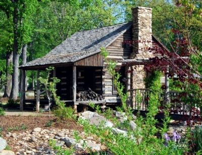 Gosnell Cabin -<br>South Corner image. Click for full size.