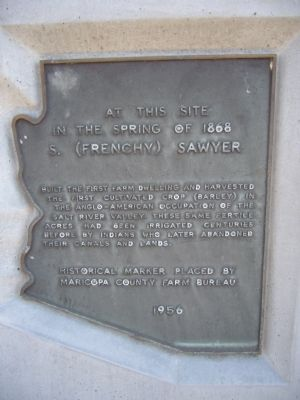 S. (Frenchy) Sawyer Marker image. Click for full size.