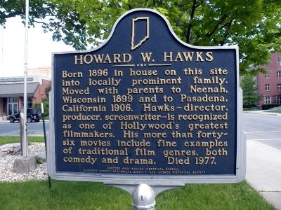 Howard W. Hawks Marker image. Click for full size.