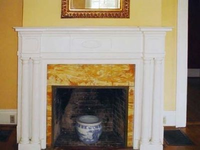 Parlor Mantle, as mentioned image. Click for full size.