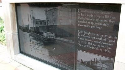 Canal Boats Marker image. Click for full size.