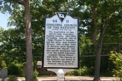 Episcopal Church Of The Nativity Marker image. Click for full size.