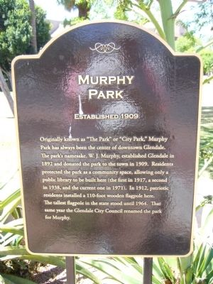 Murphy Park Marker image. Click for full size.