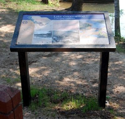Lake Greenwood Marker image. Click for full size.