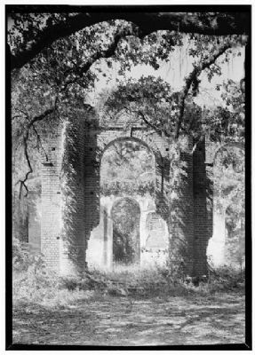 Ruins of Old Sheldon image. Click for full size.