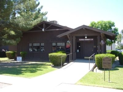Glendale Woman's Club Clubhouse image. Click for full size.