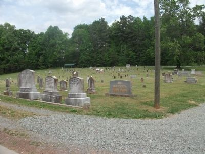 Cane Creek Meeting Cemetery image. Click for full size.