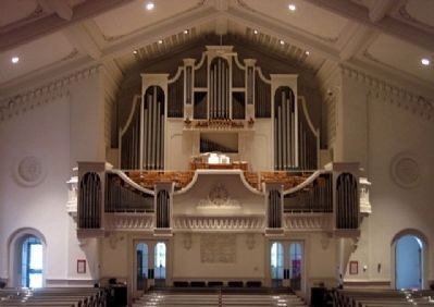 Market Square Presbyterian Church Organ image. Click for full size.