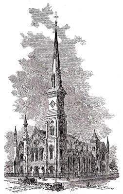 Market Square Presbyterian Church image. Click for full size.