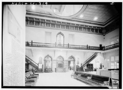 The State House lobby, main floor image. Click for full size.
