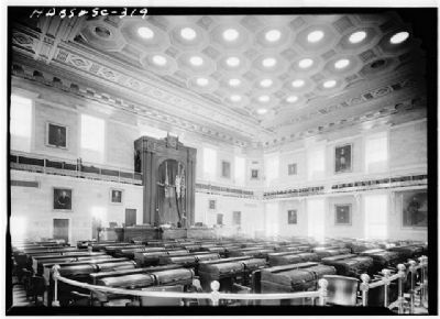 The State House House Chamber, main floor image. Click for full size.